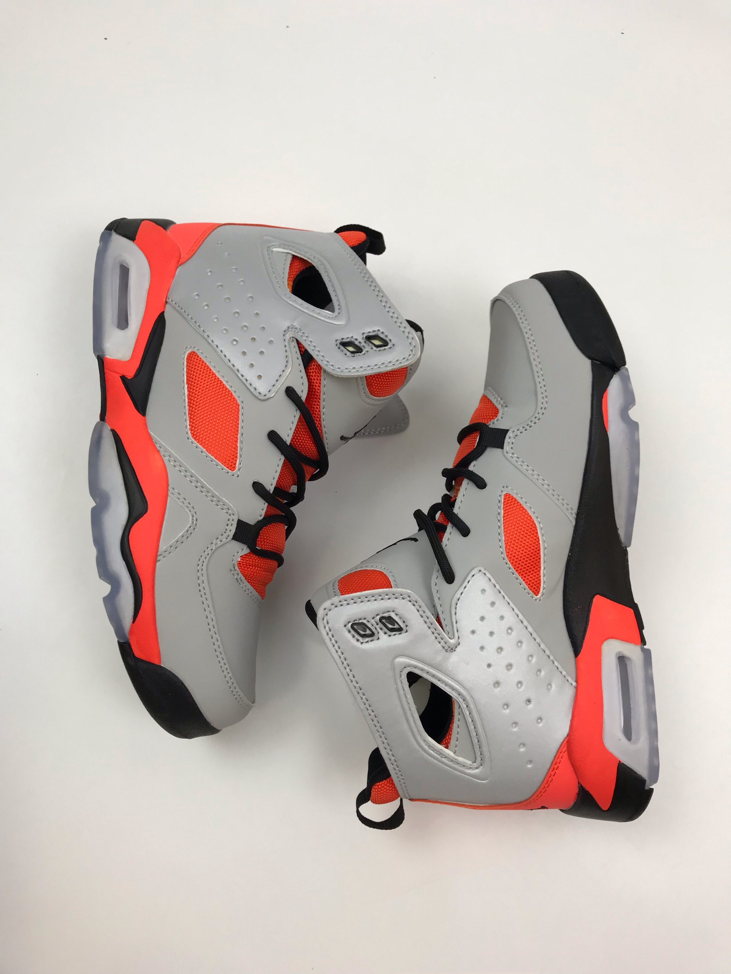 Air Jordan 6 '91 Grey Red Black Shoes
