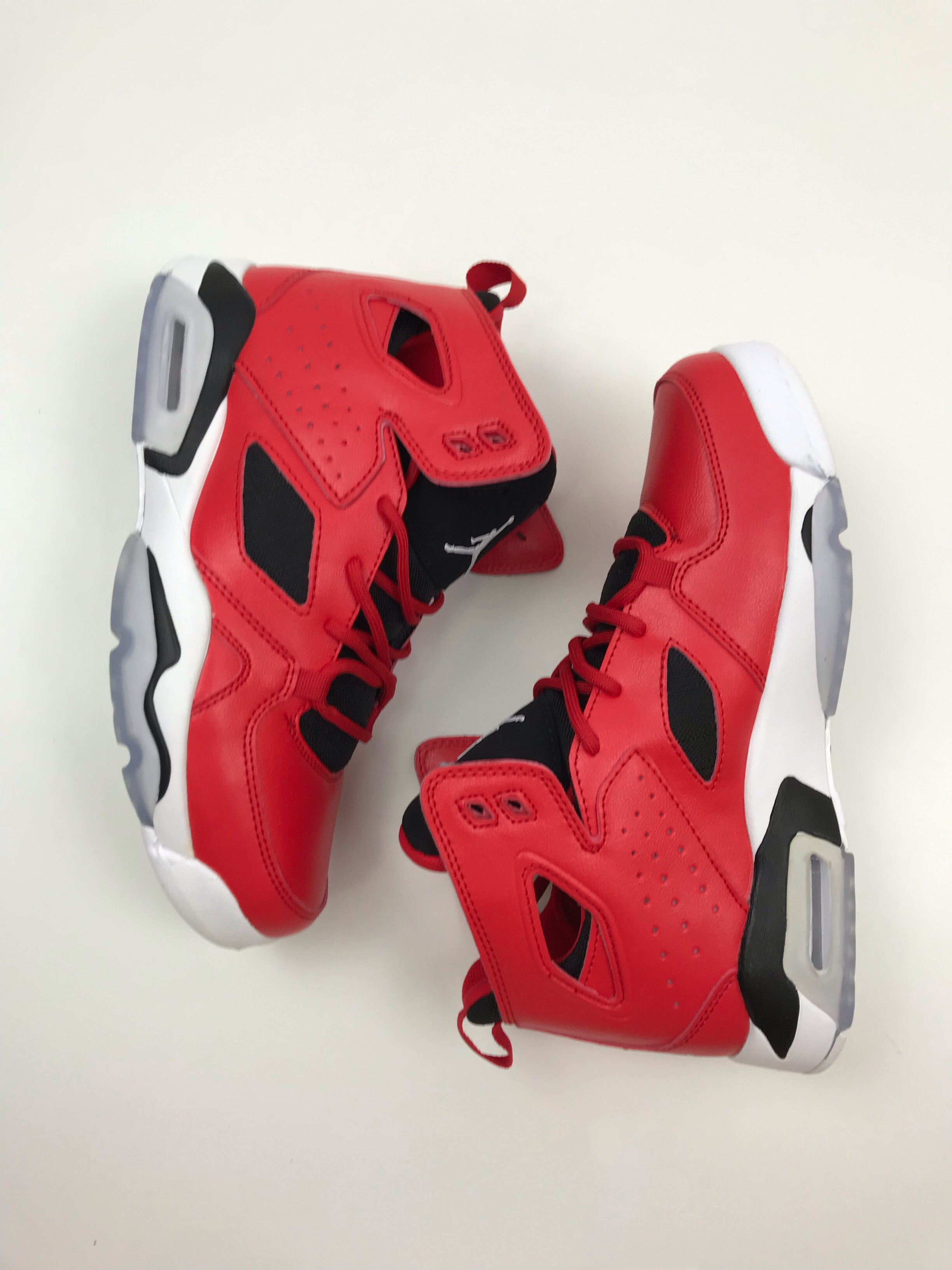 Air Jordan 6 '91 Red Black White Shoes