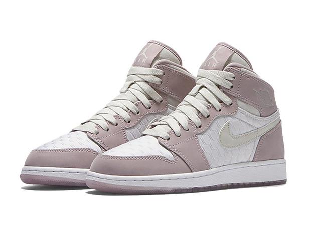 Air Jordan 1 High HC GS Pink White Shoes