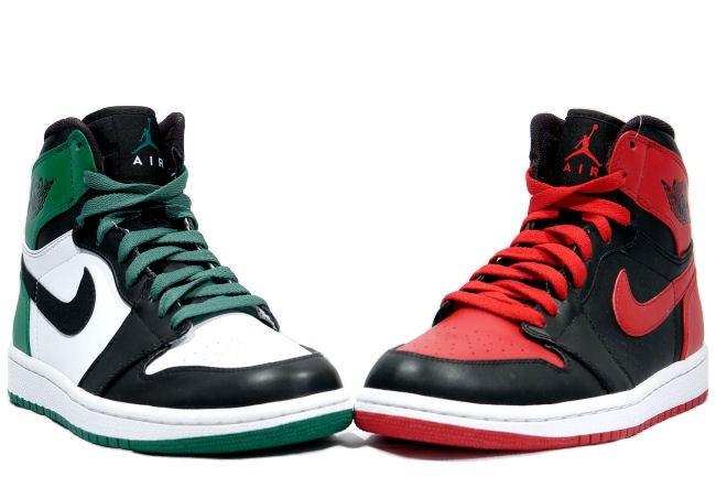 Air Jordan 1 Retro DMP Bulls And Celtics Colorways Shoes