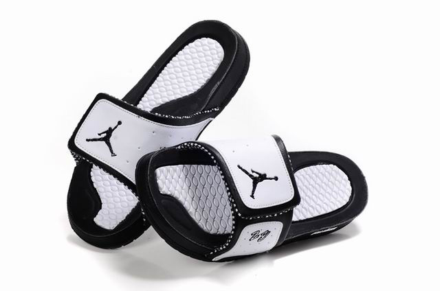 Air Jordan 10 Slipper Black White