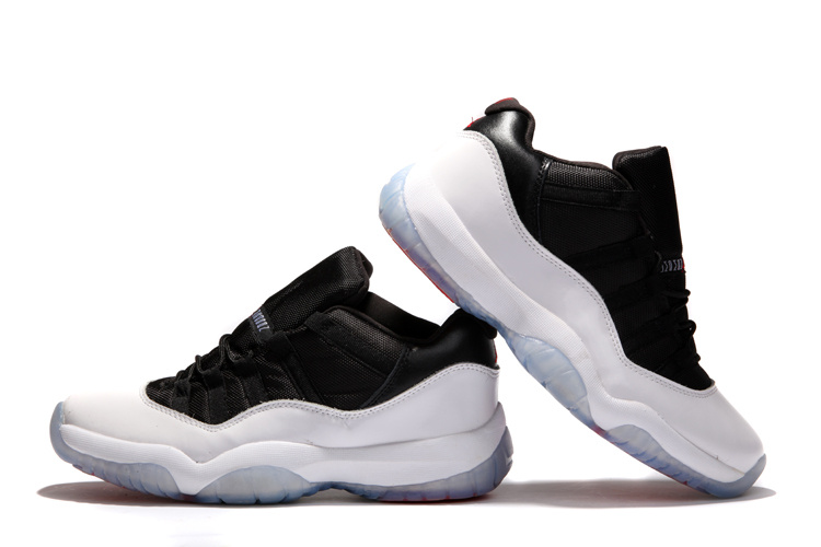 Air Jordan 11 Low Black White Shoes