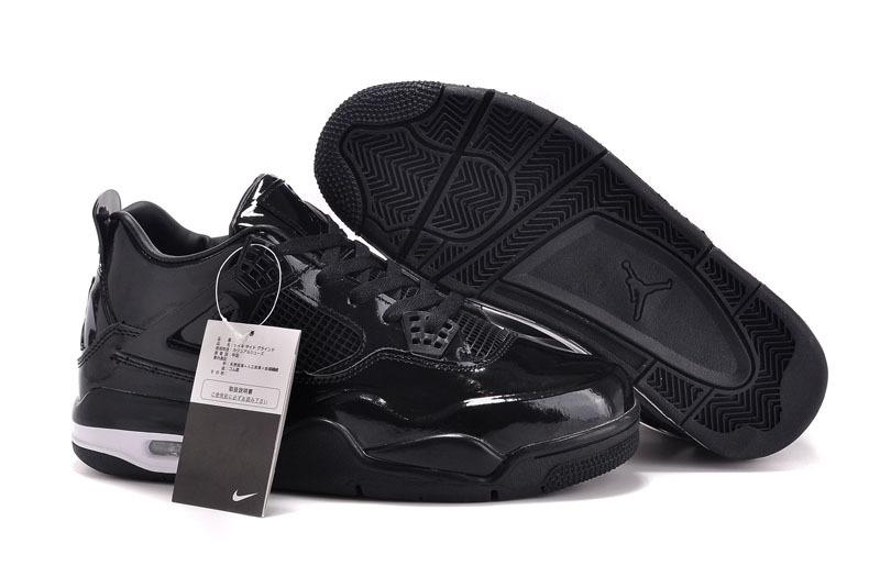 2015 Air Jordan 11Lab4 All Black Shoes