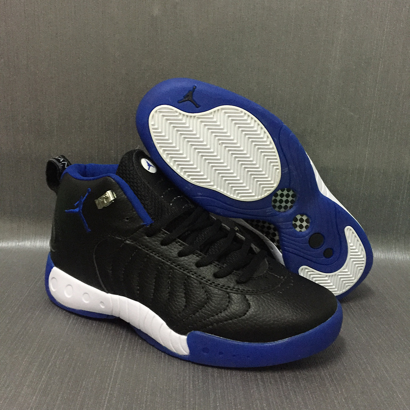 Air Jordan 12.5 Black Blue White Shoes