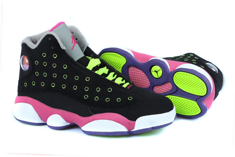 Air Jordan 13 GS Venom Green For Women