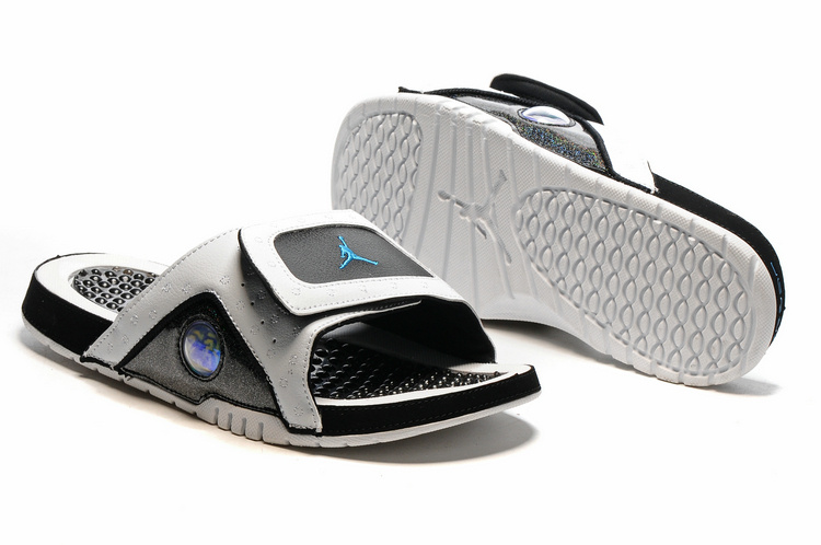 Air Jordan 13 Retro Hydro White Black Blue
