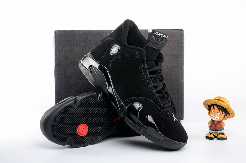 Air Jordan 14 All Black Cat Shoes