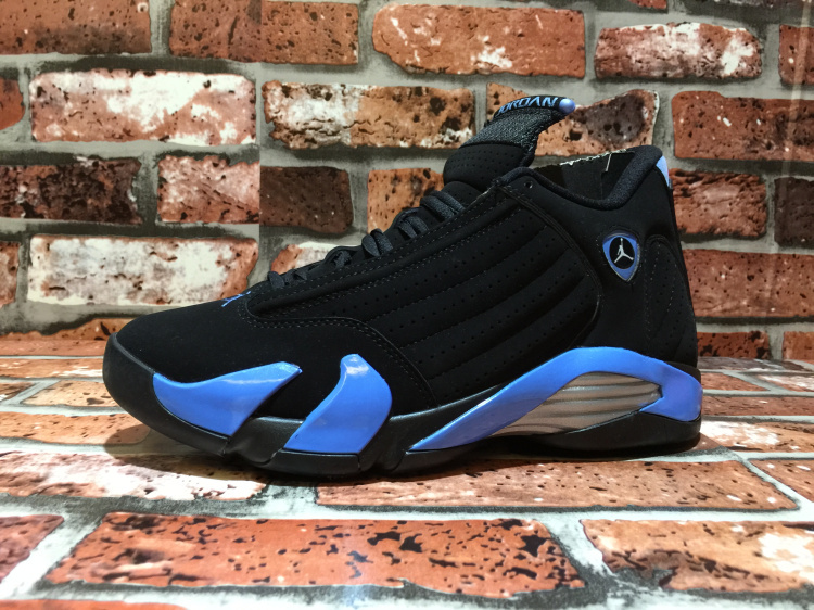 Air Jordan 14 OG North Carolina Black Blue Shoes