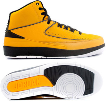 Jordan 2 Retro Yellow Chrome