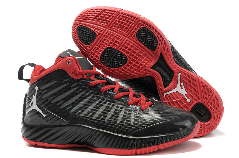 2012 Olympic Jordan Shoes Black Red