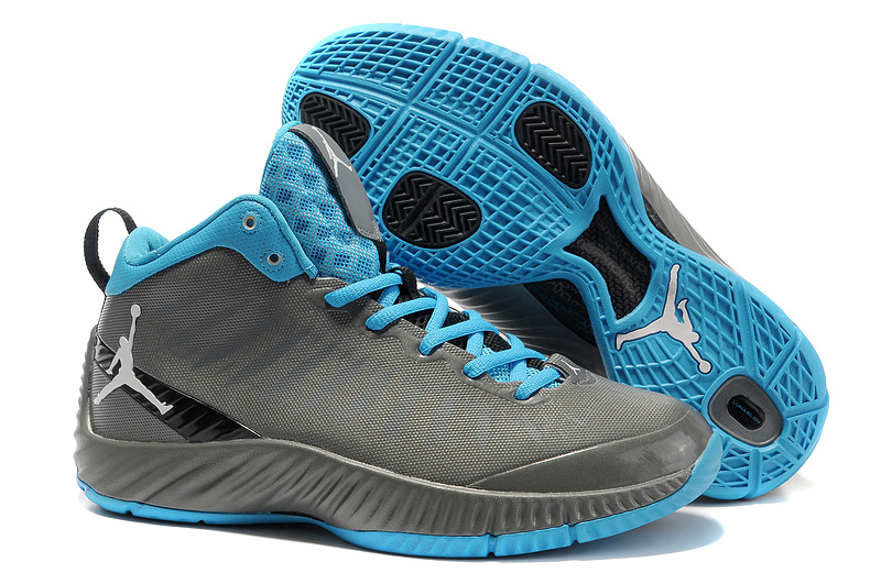 2012 Olympic Jordan Shoes Grey Dark Blue