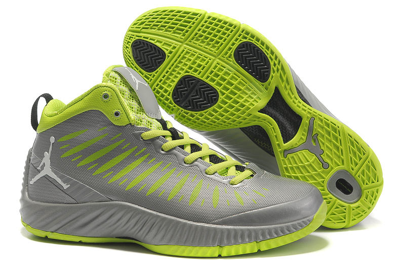 2012 Olympic Jordan Shoes Grey Green