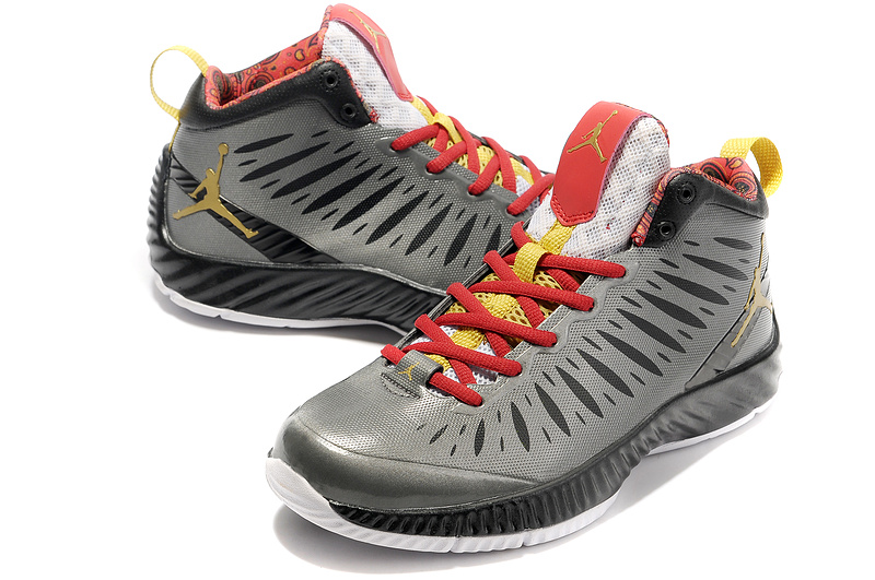 2012 Olympic Jordan Shoes Grey Red White