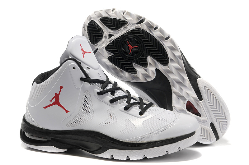 2012 Olympic Jordan Shoes White Black Red