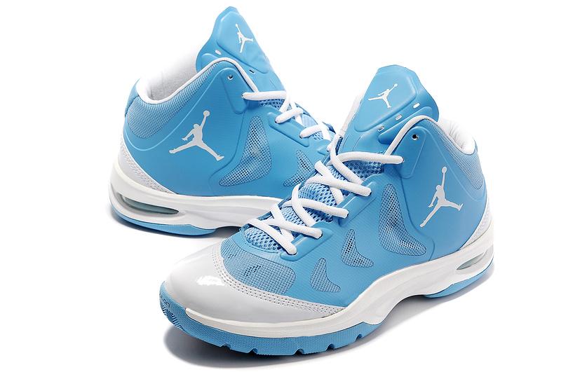 2012 Olympic Jordan Shoes White Blue