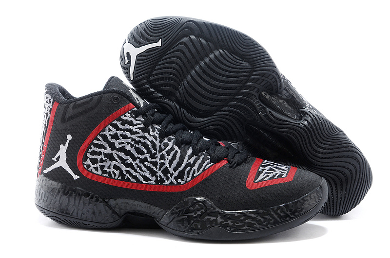 Air Jordan 29 Black Red Shoes