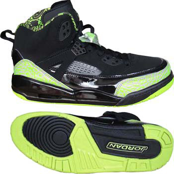 Air Jordan Shoes 3.5 Black Green