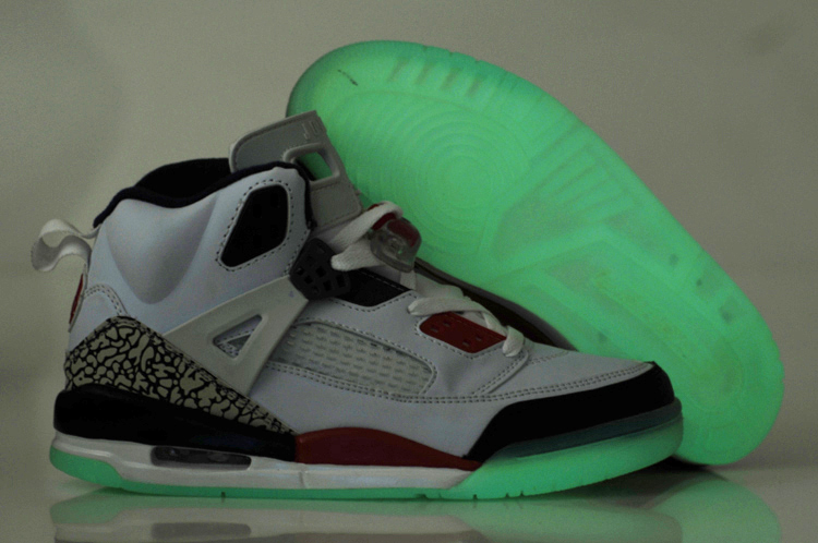 Midnight Air Jordan 3.5 White Black Red Shoes