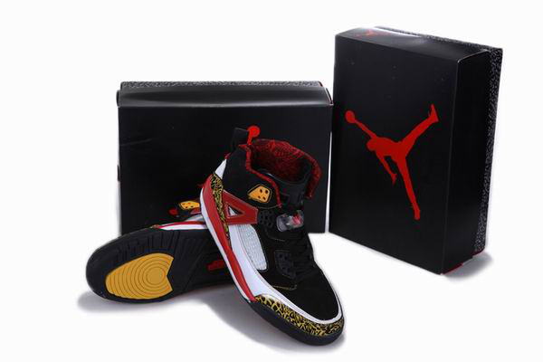 2012 Air Jordan 3.5 Reissue Balck White Red Yellow Shoes
