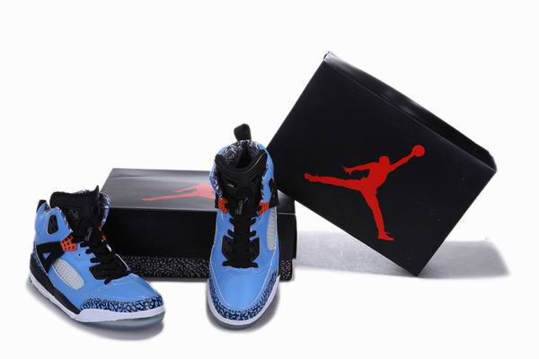 2012 Air Jordan 3.5 Reissue Blue Black White Cement Shoes