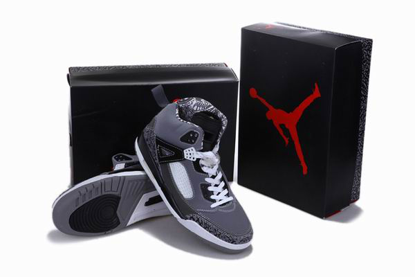 2012 Air Jordan 3.5 Reissue Grey Black White Shoes
