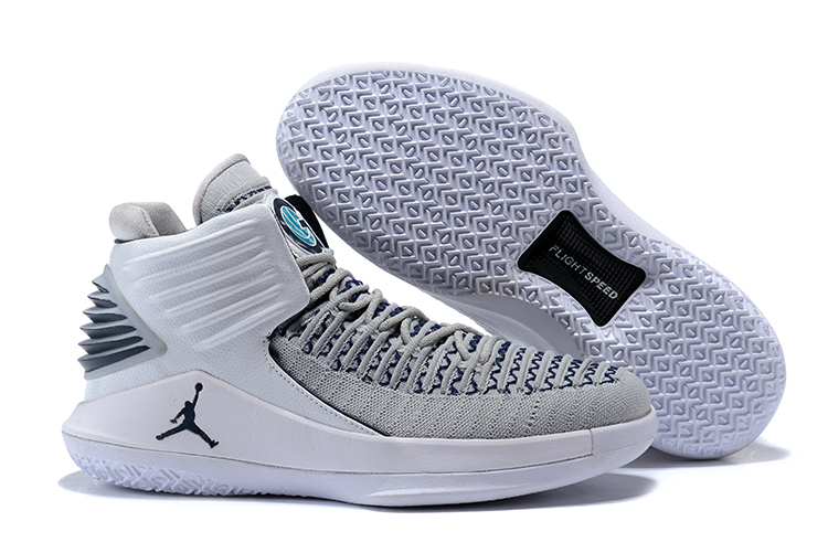 Air Jordan 32 Grey White Shoes