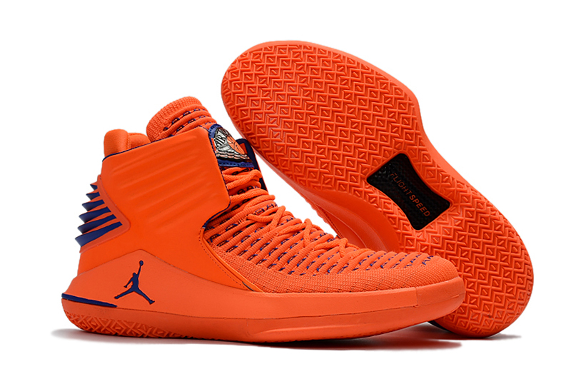 Air Jordan 32 Orange Blue Shoes