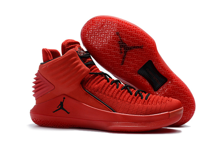 Air Jordan 32 Red Black Shoes