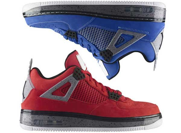 Air Jordan 4 Air Force One Fusion Premier Nubuck DMP Pack Shoes