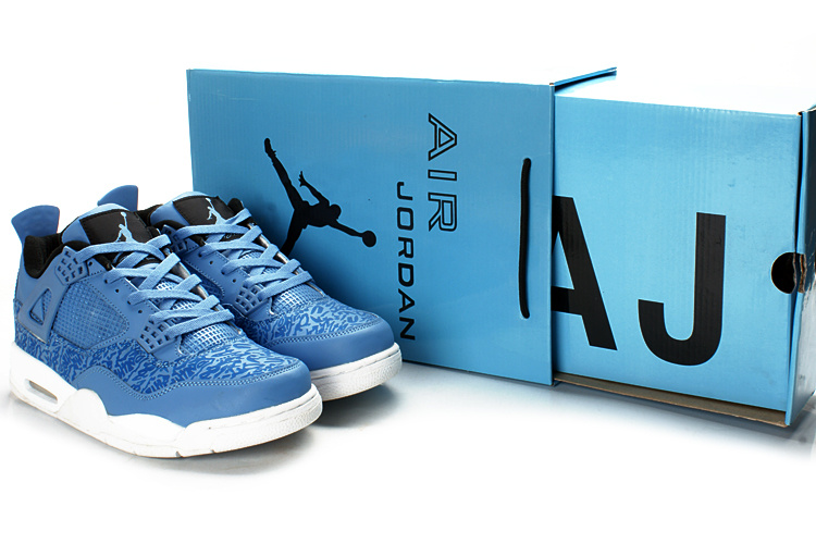 Jordan 4 Retro Classic Anniversary Blue