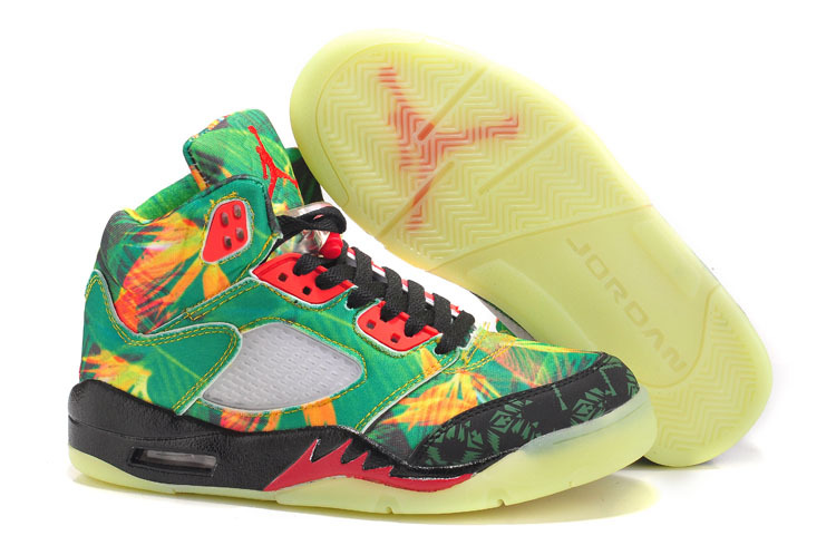 Air Jordan 5 Maple Leaf Midnight For Women