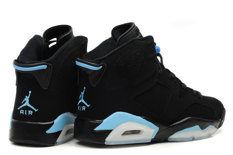Jordan 6 Retro Black White Blue