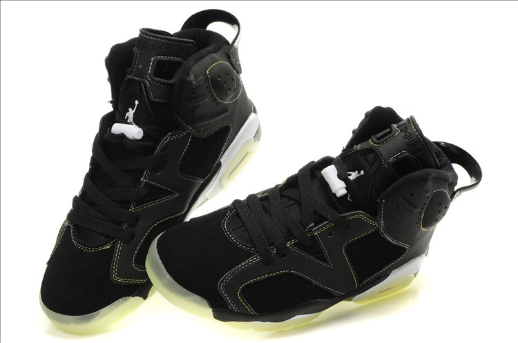 Midnight Air Jordan 6 Black White