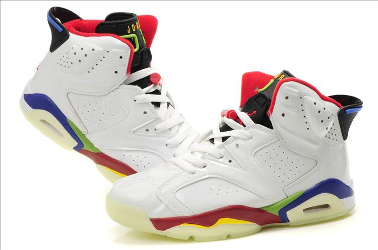 Midnight Air Jordan 6 White