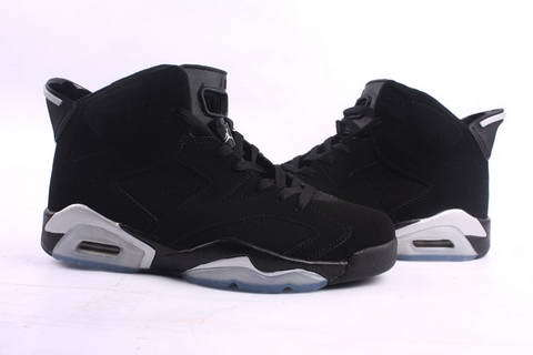 Air Jordan 6 OG Black Grey