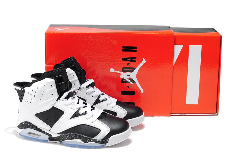 Air Jordan 6 White Black
