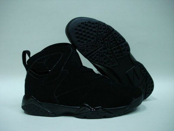 Air Jordan 7 All Black Shoes
