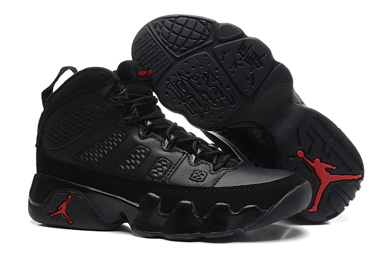 Air Jordan 9 All Black For Women