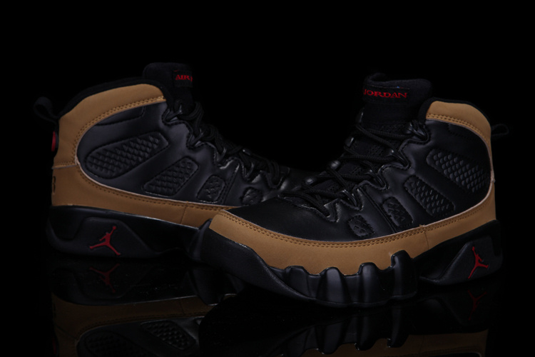Air Jordan 9 Black Brown For Kids