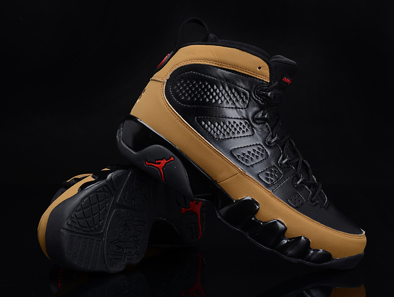 Reissued Air Jordan 9 Black Brown Shoes
