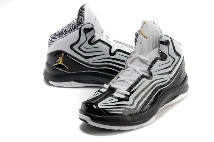 Air Jordan Aero Mania White Black Shoes