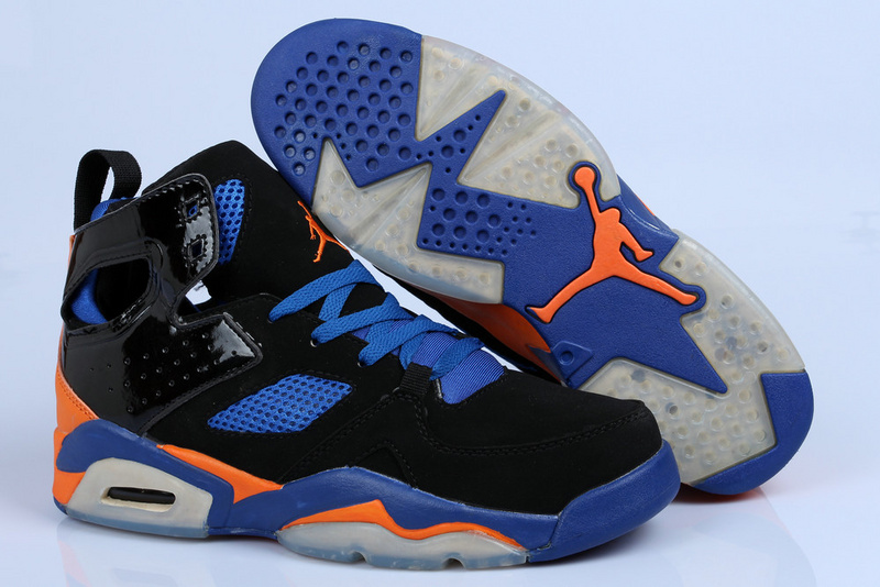 Air Jordan Fltclb 911 Black Blue Orange Shoes