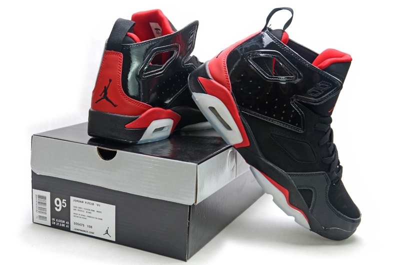 2013 Air Jordan Fltclb 911 Black Red Shoes