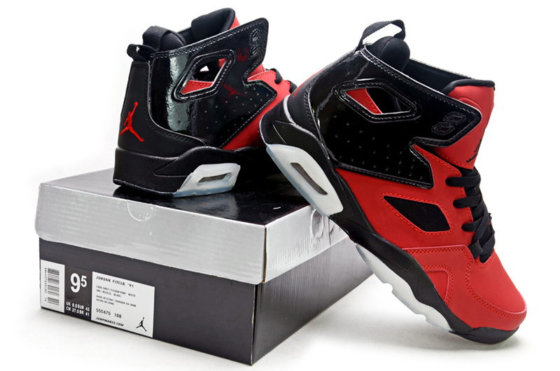 2013 Air Jordan Fltclb 911 Black Red White Shoes