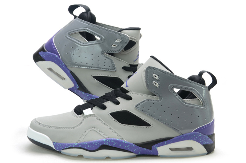 Air Jordan Fltclb 911 Grey Purple Shoes