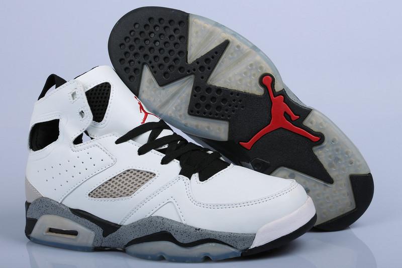 Air Jordan Fltclb 911 White Grey Black Shoes