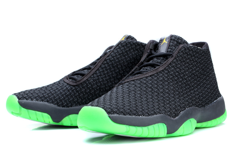 Air Jordan Future Black Green Shoes