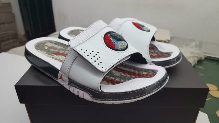 Air Jordan Hydro VIII White Red Sandal