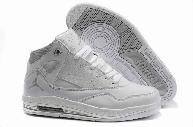 Cheap Jordan Jumpman H Series II All White Shoes
