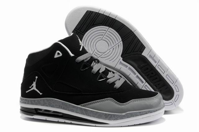 Cheap Jordan Jumpman H Series II Black Grey White Shoes
